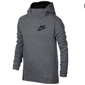 Nike Boys Tech Fleece Funnel Hoodie